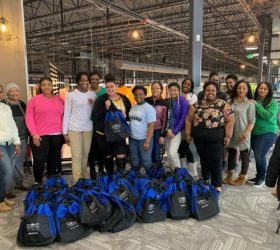 Mentee bags for homeless 2019